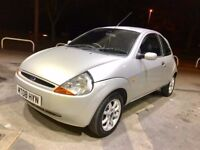 2008 FORD KA ZETEC CLIMATE 1.3,TOP SPECS,77000 MILES FULL SERVICE HISTORY,NEW CLUTCH WITH RECEIPTS