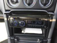 Clarion CZ101E car stereo CD player radio with aux