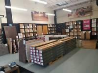 Wood flooring, carpets and vinyl