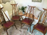 Quirky vintage retro chairs