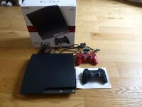 Sony PS3 120GB with 2 controllers and 18 games