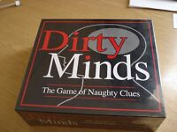 """Board game """"Dirty Minds"""" New and sealed"""