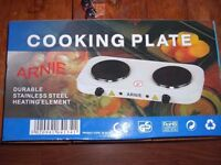 'ARNIE' Two Ring Cooking Plate