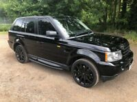 Land Rover Range Rover Sport 3.6 TD V8 HSE 5dr - black on black....fridge and auxiliary heater!