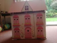 Dolls house (ELC Rosebud Cottage)