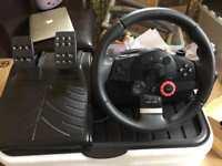 Logitech GT Driving Force steering wheel *REDUCED*