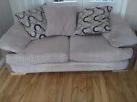 3 & 2 seater Fabric sofas