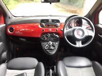 2013 Fiat 500 Street Red/Black Rare Low Mileage!!!