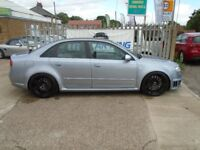 AUDI RS4 SALOON 4.2 Quattro 4dr (silver) 2007