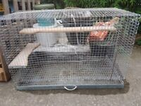 Large metal rodent cage