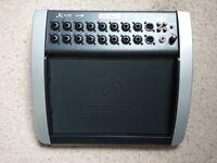 Behringer X18 air mixer + gator case