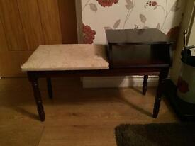 Lovely mahogany telephone table