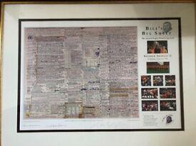 Bill's Big Sheet - England v Australia 1991