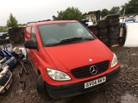 Mercedes Sprinter vito ml spare parts engine axel gearbox wheels doors seats available