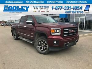 2015 GMC Sierra 1500 SLT/ SUNROOF/ REMOTE START/ HTD SEATS