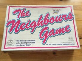 Vintage Neighbours board game