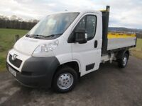 Peugeot Boxer Tipper 2014 335 L2 HDi only 1 Owner NOW £7950 NO VAT VGC