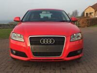 Audi A3, 1.9 TDIe Sport, 5 Door in red - 12mths MOT £30 tax 60+mpg