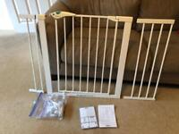 Lindam Stair Gate EXTRA WIDE (with 2 extension pieces)