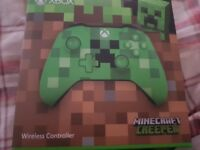 Minecraft xbox on me controller brand new