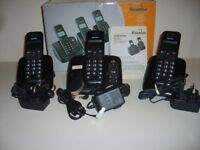 Binatone triple digital answerphone