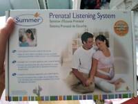 Prenatal listening monitor