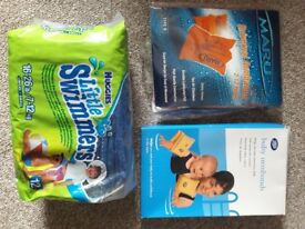 Brand new Swim nappies and arm brands