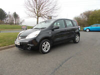 NISSAN NOTE ACENTA 1.4 MPV STUNNING BLACK 2009 BARGAIN ONLY £1450 *LOOK* PX/DELIVERY