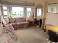 CHEAP 3 BEDROOM STATIC CARAVAN FOR SALE READY TO MOVE IN SEA VIEWS NT HAVEN , WHITLEY BAY ,SANDY BAY