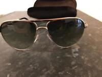 TOM FORD MARKO TF144 28P ROSE GOLD/GREEN GRADIENT