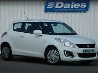 Suzuki Swift 1.2 SZ2 Petrol 3Dr Hatchback (superior white) 2015