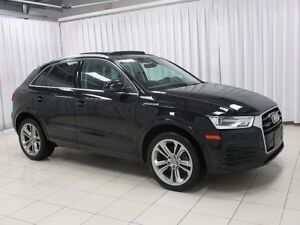 2018 Audi Q3 Turbo Quattro! AWD!  PanoRoof! Heated Seats! Back-