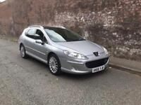 2007/56 PEUGEOT 407 SW 2.7 V6 HDI AUTOMATIC SERVICE HISTORY SAT NAV PANARAMIC ROOF TOP SPEC !!!