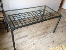Glass Table and 4 chairs in Welwyn Garden City