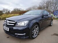 Mercedes Benz C Class Coupe C250 AMG Extra Sport 204BHP Low Mileage Special Edition Fully Loaded