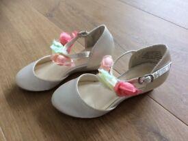 Monsoon Girls Christmas Wedding Shoes