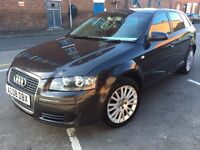 08 Plate - Audi A3 - 1.9 TDI - 1 former keeper - warranted Miles - Service History