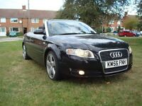 Audi A4 1.8 convertible finished is black metallic .Poss swap for a camper van or converted van