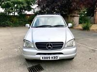 MERCEDES ML 270 CDI AUTO + 7 SEATS + 1 YEAR MOT & LOW MILLAGE