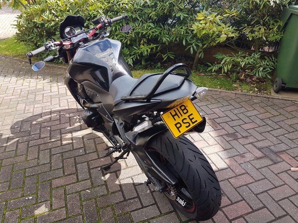 Kawasaki Z750R Black Edition 2013