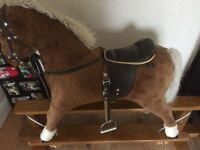 MARK J ROCKING HORSE. EXCELLENT CONDITION