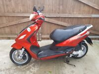 Piaggio fly 50cc 4t 4v 2013 new shape scooter moped