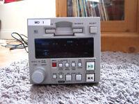 Denon professional MD mini disk cart recorder / player model DNm991R