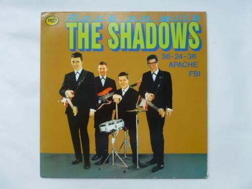 The Shadows - Rock on with (LP)