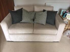 3 and 2 designer sofas