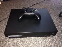 xbox one x console controller included