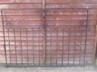 set of wrought iron gates
