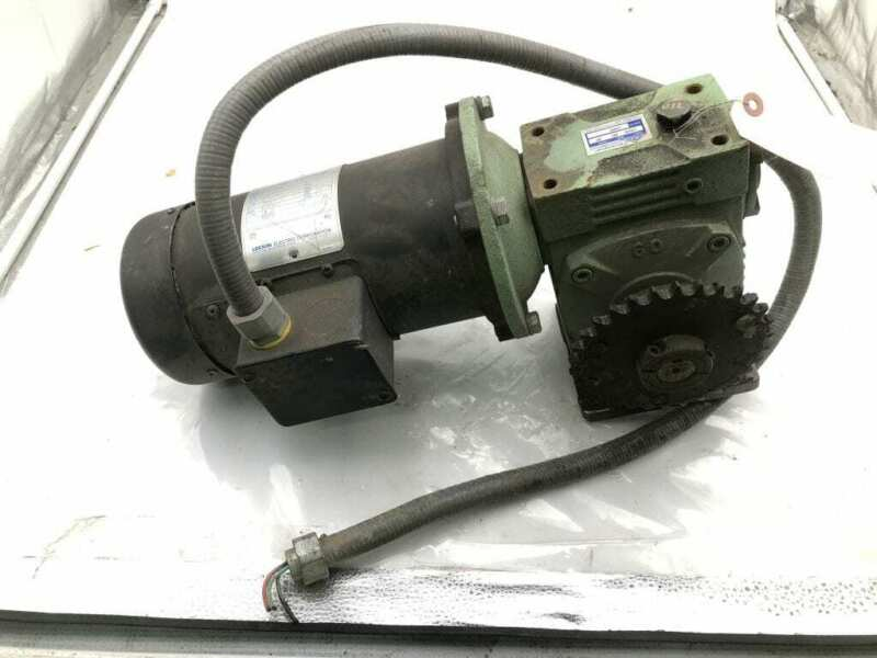 Cleveland 0045 Type UCHS Size 60 Speed Reducer/Gear Drive 1/2HP 30:1 180VDC