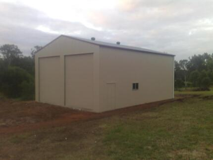 HUGE SHED 15X9X3.6 COLORBOND SHED GARAGES SHEDS GARAGE DALBY