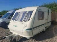 elddis whirlwind xl 2 berth touring caravan touring caravan